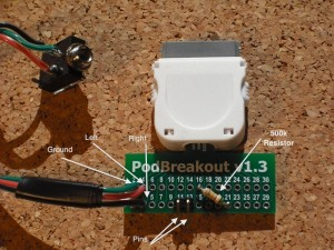 iPhone Breakout Wiring - Front